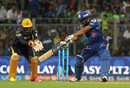Rohit Sharma plays a late cut, Mumbai Indians v Kolkata Knight Riders, IPL 2016, Mumbai, April 28, 2016