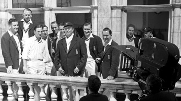 Alec Bedser, Cyril Washbrook, Len Hutton, Denis  Compton, Jim Laker and Godfrey Evans  feature in the movie <i>The Final Test</i>