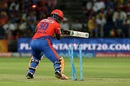Dwayne Smith is cleaned up for 63, Rising Pune Supergiants v Gujarat Lions, IPL 2016, Pune, April 29, 2016