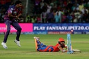 Ishan Kishan is run out, Rising Pune Supergiants v Gujarat Lions, IPL 2016, Pune, April 29, 2016