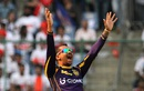 Sunil Narine appeals successfully for the wicket of Sanju Samson, Delhi Daredevils v Kolkata Knight Riders, IPL 2016, Delhi, April 30, 2016