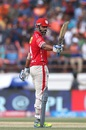 M Vijay raises his bat after reaching his fifty, Gujarat Lions v Kings XI Punjab, IPL 2016, Rajkot, May 1, 2016