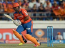 Dwayne Smith plays the ball onto the leg side, Gujarat Lions v Kings XI Punjab, IPL 2016, Rajkot, May 1, 2016