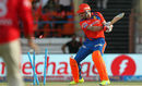 Brendon McCullum is bowled by Mohit Sharma, Gujarat Lions v Kings XI Punjab, IPL 2016, Rajkot, May 1, 2016