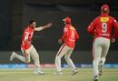 Axar Patel ripped through Gujarat Lions' middle order, Gujarat Lions v Kings XI Punjab, IPL 2016, Rajkot, May 1, 2016