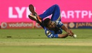 Jasprit Bumrah fails to hold on to a catch, Rising Pune Supergiants v Mumbai Indians, IPL 2016, Pune, May 1, 2016