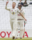 Ben Stokes toiled 33.4 overs for his 4 for 117, Surrey v Durham, County Championship, Division One, The Oval, 2nd day, May 2, 2016
