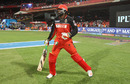 Chris Gayle walks out to bat after missing four games, Royal Challengers Bangalore v Kolkata Knight Riders, IPL 2016, Bangalore, May 2, 2016