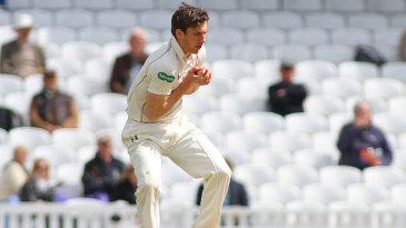 Zafar Ansari took a return catch to remove Ben Stokes