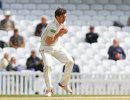 Zafar Ansari took a return catch to remove Ben Stokes, Surrey v Durham, County Championship, Division One, The Oval, 3rd day, May 3, 2016