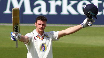 Jack Burnham reached his maiden first-class hundred