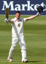 Jack Burnham reached his maiden first-class hundred, Surrey v Durham, County Championship, Division One, The Oval, 3rd day, May 3, 2016