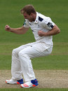 David Willey claimed his first wicket for Yorkshire, Nottinghamshire v Yorkshire, County Championship, Division One, Trent Bridge, 3rd day, May 3, 2016