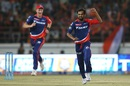 Shahbaz Nadeem dismissed Dwayne Smith and Aaron Finch early, Gujarat Lions v Delhi Daredevils, IPL 2016, Rajkot, May 3, 2016
