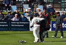 Mark Cosgrove is helped off the field, Sussex v Leicestershire, County Championship, Division Two, Hove, 3rd day, May 3, 2016