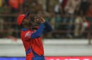 Dwayne Smith takes a catch to dismiss Quinton de Kock, Gujarat Lions v Delhi Daredevils, IPL 2016, Rajkot, May 3, 2016