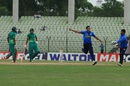 Taskin Ahmed picked up 2 for 29, Abahani Limited v Victoria Sporting Club, DPL 2016, Fatullah, May 4, 2016