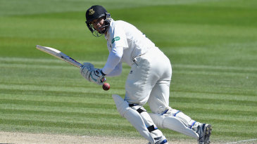 Ross Taylor settled in on the final day