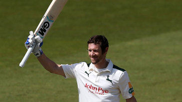 Chris Read scored his 25th first-class hundred