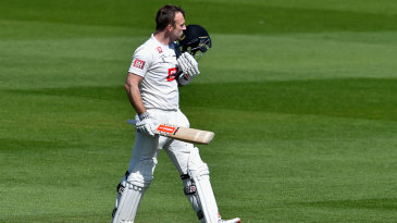 Chris Nash continued his good form with a century