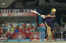 Gautam Gambhir pulls powerfully towards the square leg boundary, Kolkata Knight Riders v Kings XI Punjab, IPL 2016, Kolkata, May 4, 2016