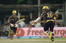 Gautam Gambhir and Robin Uthappa shared a century opening stand, Kolkata Knight Riders v Kings XI Punjab, IPL 2016, Kolkata, May 4, 2016