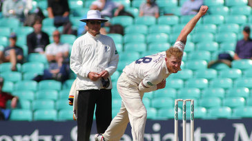 Ben Stokes gave Surrey a scare on the final afternoon