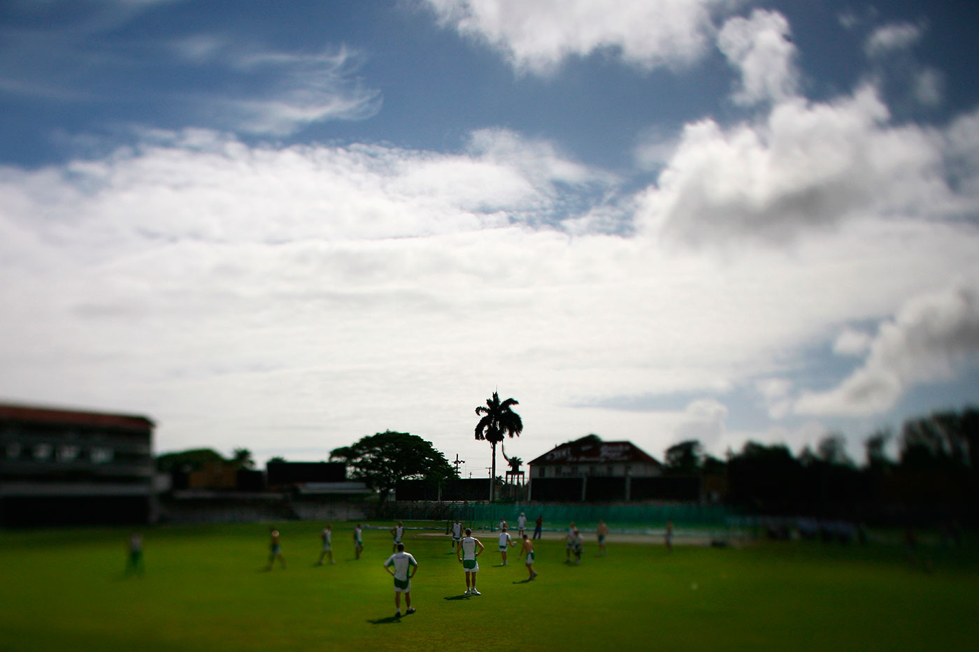 View of the Bourda Cricket Ground
