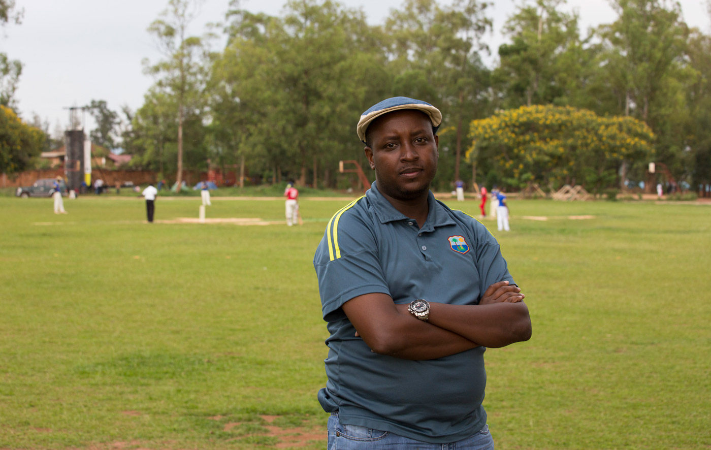 Former national player Charles Haba is now the president of the Rwanda Cricket Association