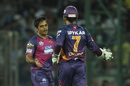 Rajat Bhatia picked up two wickets, Delhi Daredevils v Rising Pune Supergiants, IPL 2016, Delhi, May 5, 2016