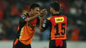 Mustafizur Rahman took 2 for 17 in four overs