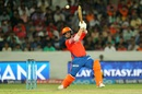 Aaron Finch scored an unbeaten 51, Sunrisers Hyderabad v Gujarat Lions, IPL 2016, Hyderabad, May 6, 2016