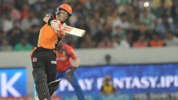 David Warner scored 24 in quick time