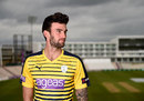Reece Topley at the Hampshire photocall, Southampton, April 7, 2016