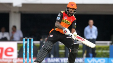 Shikhar Dhawan unfurls the scoop