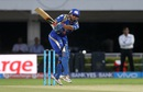 Parthiv Patel was trapped lbw by Bhuvneshwar Kumar for a duck, Mumbai Indians v Sunrisers Hyderabad, IPL 2016, Visakhapatnam, May 8, 2016