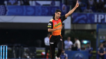 Ashish Nehra celebrates after picking up a wicket