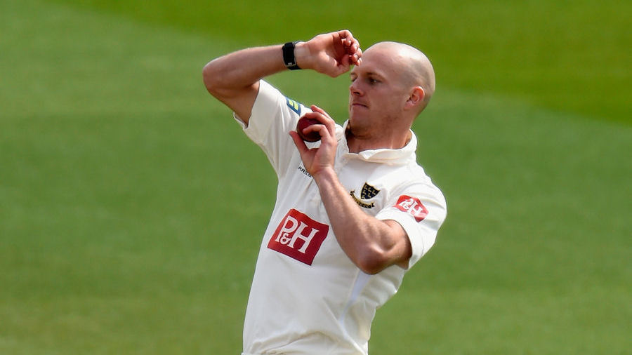 Lewis Hatchett , the Sussex left-arm pace bowler, has announced his ...