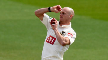 Lewis Hatchett lifted Sussex with five wickets at Derby