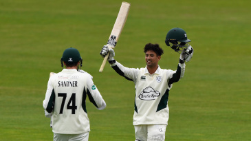 Brett D'Oliveira made an unbeaten double hundred