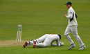 Jacques Rudolph was run out, Glamorgan v Worcestershire, County Championship, Division Two, Cardiff, 2nd day, May 9, 2016