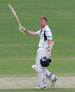 Sam Robson made his third century of the season, Middlesex v Nottinghamshire, County Championship, Division One, Lord's, 2nd day, May 9, 2016