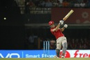 Marcus Stoinis miscues a shot, Kings XI Punjab v Royal Challengers Bangalore, IPL 2016, Mohali, May 9, 2016