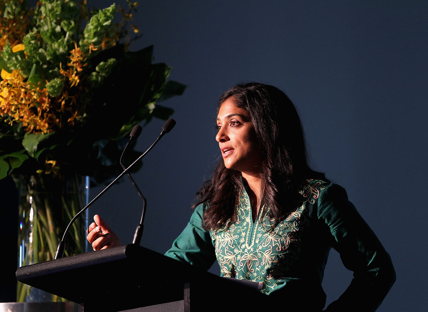 Lisa Sthalekar made it to commentating on a men's game within two years of her retirement from playing