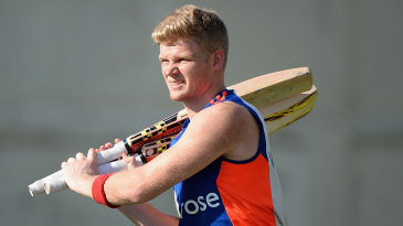 Sam Billings at practice