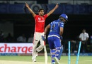 Ambati Rayudu is cleaned up by Sandeep Sharma, Mumbai Indians v Kings XI Punjab, IPL 2016, Visakhapatnam, May 13, 2016