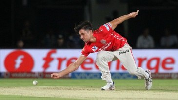 Marcus Stoinis took 4 for 15 - his career-best figures in T20s