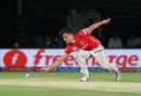 Marcus Stoinis took 4 for 15 - his career-best figures in T20s, Mumbai Indians v Kings XI Punjab, IPL 2016, Visakhapatnam, May 13, 2016