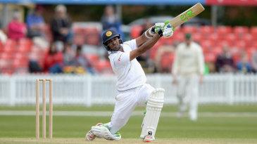 Dasun Shanaka played an attacking innings