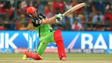 AB de Villiers blasted 129 unbeaten runs off just 52 balls